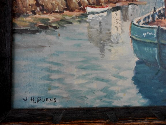 Seascapes Painting By William Henry Burns Sold By
